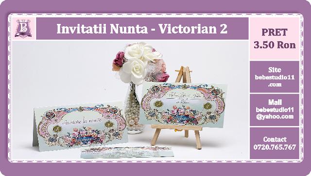 Invitatii Nunta Victorian 2