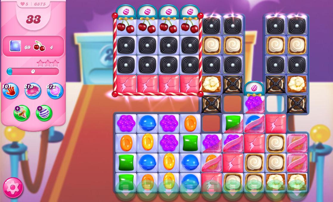 Candy Crush Saga level 6875