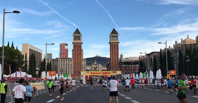 Mourad El Bannouri y Lidia Rodriguez se hacen con la victoria en la Cursa de la Mercè 2017