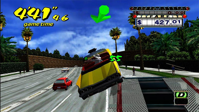 Crazy Taxi game play