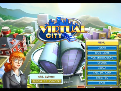 Jogo Virtual City PC Capa