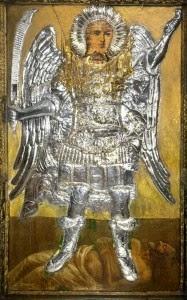 Mihály arkangyal ikonja könnyezni kezdett Rhodoszban (2013.nov.11.)