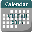 Virtual University Semester Fall 2015 Calendar : Free Learning Resources
