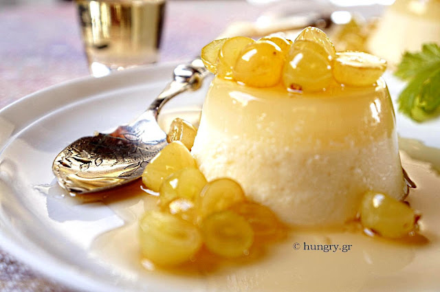 Panna Cotta with Dessert Wine