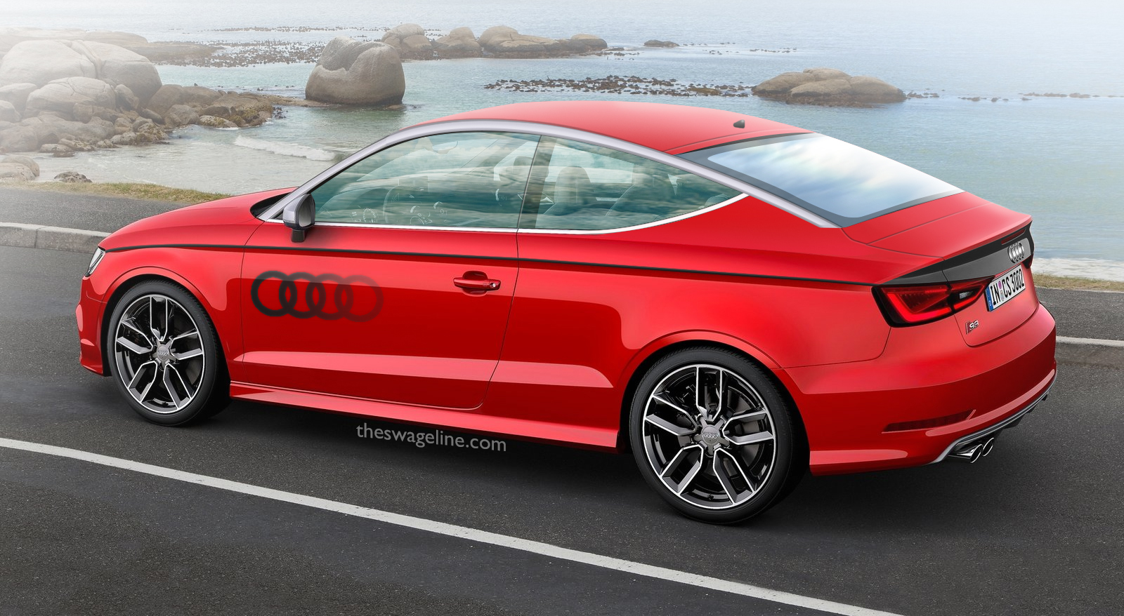 TheSwageLine Automotive Renderings Audi S Coupé - Audi s3 coupe