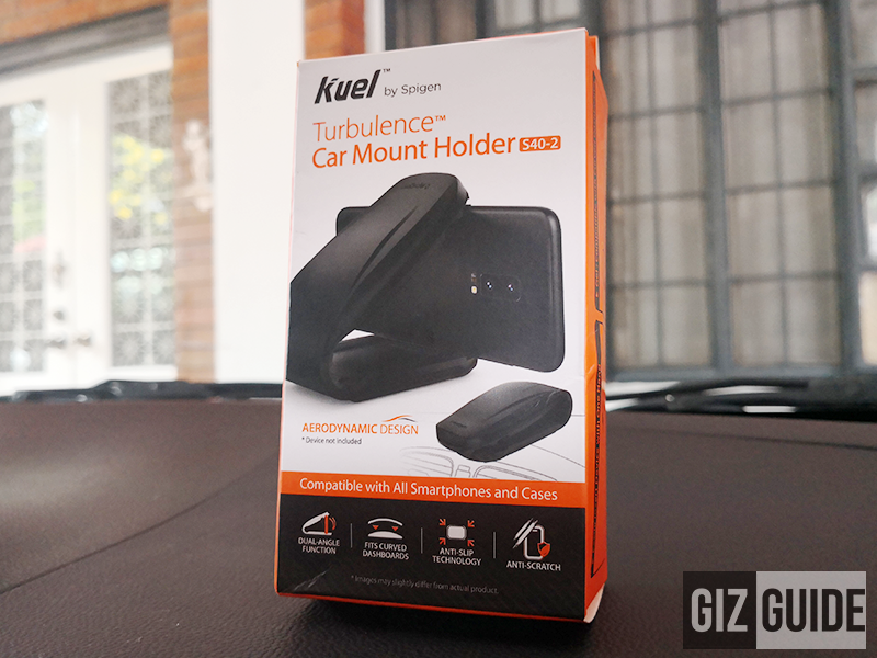 Meet Spigen Kuel S40-2 Turbulence Universal Car Mount