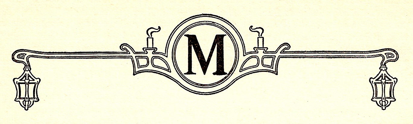 Catnipstudiocollage Introducing Monogram Monday The Letter M