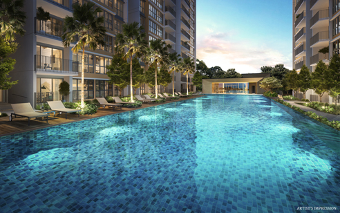 Rivercove Residences Pool