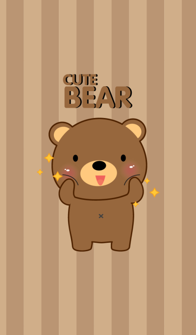 I'm Cute Bear Theme