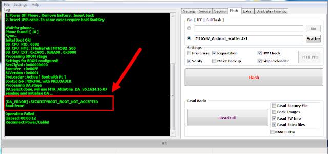 مجموعة ملفات Download Agent -DA لهواتف Lenovo المحمية Secure Boot