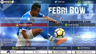 FIFA 18 Mod PERSIB by Rizky Jr Apk Terbaru