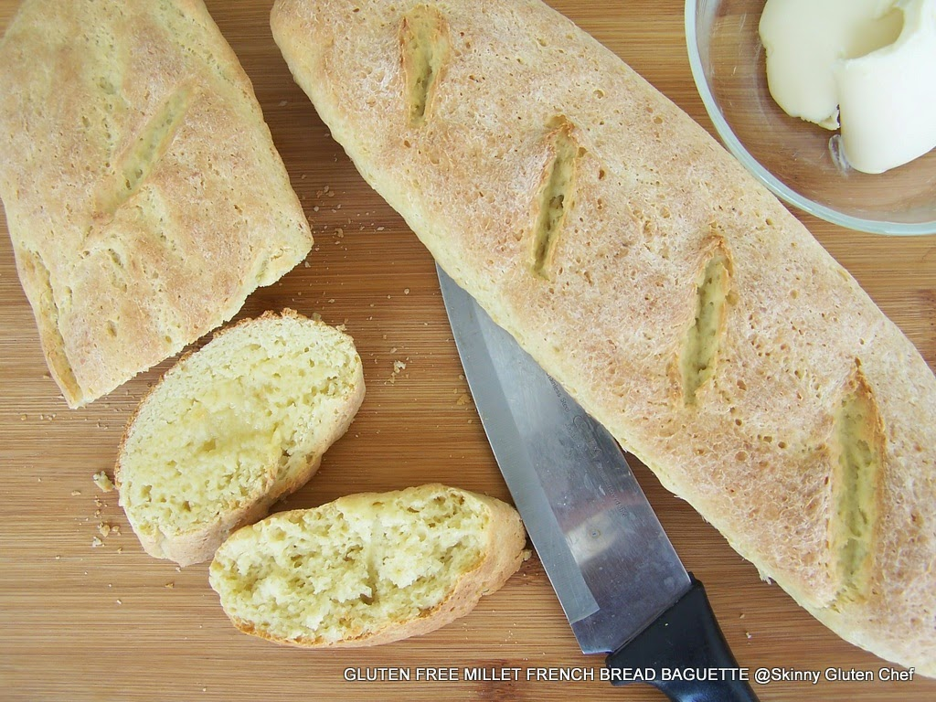 Homemade gluten free French Bread Baguette