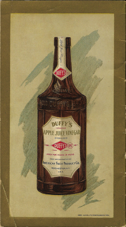 Duffy's Apple Juice Vinegar