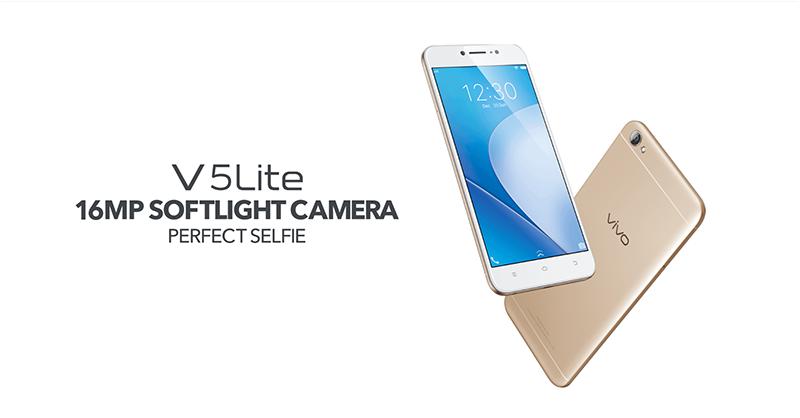 Vivo V5 Lite With 16 MP Selfie Cam With Softlight Flash Revealed!
