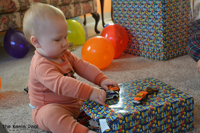 Aaron's 1st Birthday -I can't believe my little man turned one last month. We have had a lot of fun adventures since he joined our family.