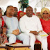 See Gov. Ambode, Wife and others at the 2016 Lagos Christmas Carol service today ...photo