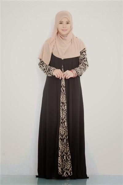 Contoh Model Baju Hamil Hijab Muslim Modis Dan Trendy