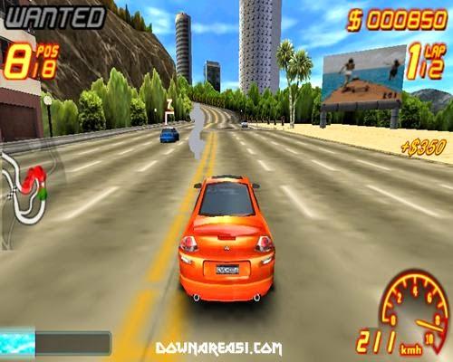 Asphalt 2 Urban GT PSP ISO