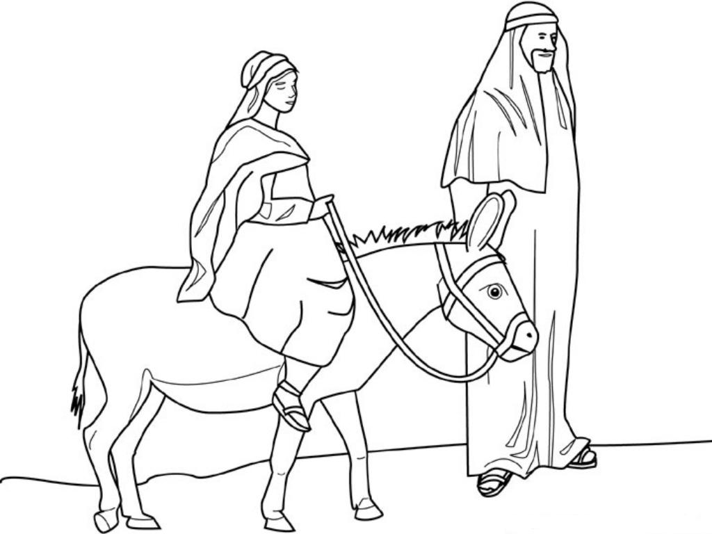 mary joseph coloring pages | Christian Ed To Go: December 2011