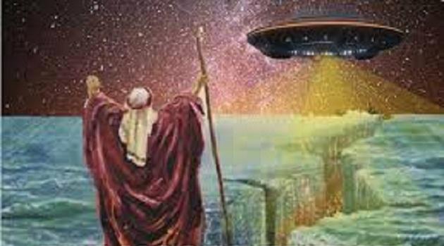 Βοήθεια στον  Μωυσή από Εξωγήινους !!!! μέσα απο τα βιβλία των Ευαγγελιστών!