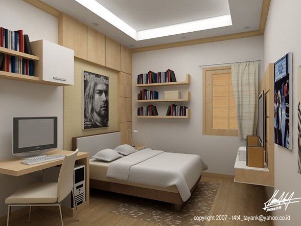 Decora y disena dormitorios juveniles minimalistas ideas - Decoracion interiores dormitorios ...