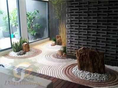 tukang taman surabaya || desain taman surabaya || taman kering || taman jepang