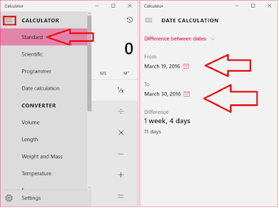 How to Calculate Dates in Days (Previous Upcoming Dates),how to calculate days,how to calculate dates in days,calculate dates in days,previous calendar,upcoming calendera,date calculator,date calculation,windows calculator,different between dates,Add dates,subtract dates,know date day year,best calendar app,date Calculator,Add or Subtract days,how to calculator,know previous date day,know upcoming date day,year,month,day,calculator