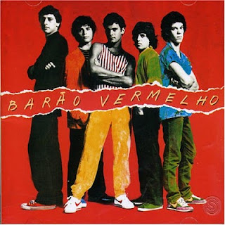 Capa do Primeiro Disco do Barão Vermelho (1982)