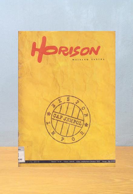 Majalah Horison No. 9 + 10, 1993