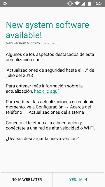 Moto G5 gets July 2018 Security Update in Argentina