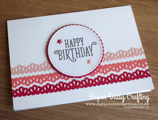 Decorative Ribbon Border punch Stampin Up