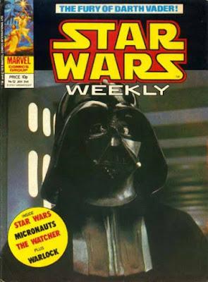 Star Wars Weekly #52, Darth Vader