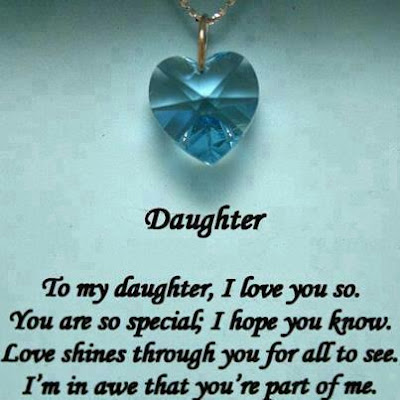 life inspiration quotes: My daughter is my greatest gift quote