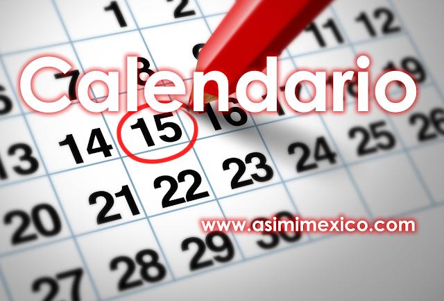 Dias Festivos en Mexico 2018