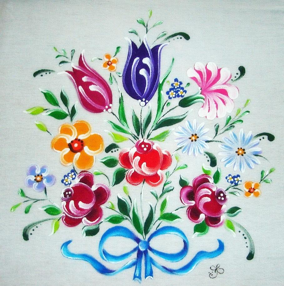 Pintura em tecido como fazer passo a passo riscos e - Pintura de pared ...