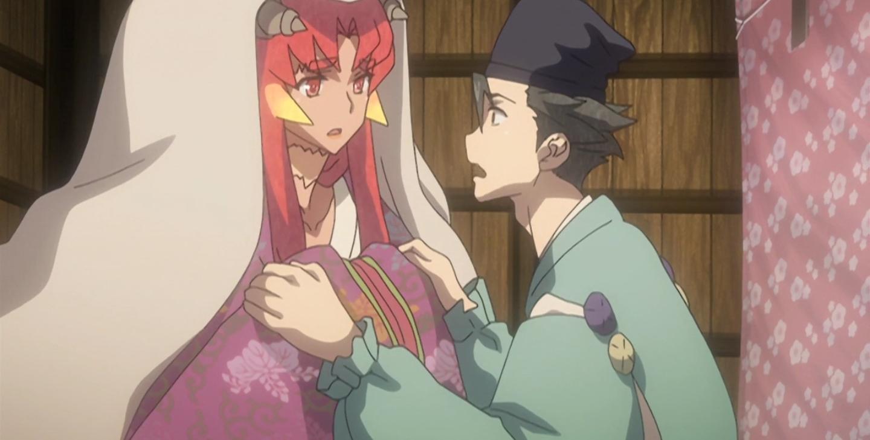 Shikkoku no Shaga episódio 2 - cenas e gifs