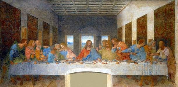 The Last Supper oleh Leonardo da Vinci