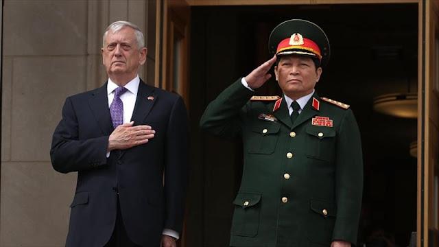 EEUU envía un portaaviones a Vietnam contra China