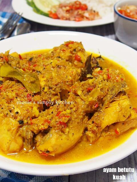 Resep Ayam Betutu Bali : resep, betutu, Resep, Betutu, Masakan, Mudah
