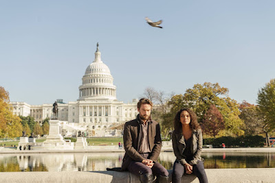 Sleepy Hollow Season 4 Tom Mison and Lyndie Greenwood (16)