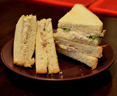 Chicken Mayonnaise Sandwich