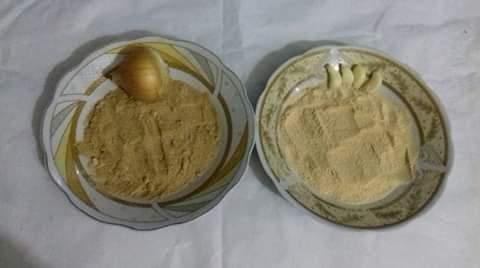 طريقة عمل البصل والثوم البودرة بطريقة سهلة
