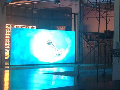 Lắp đặt thi công màn hình led p5 indoor tại Thanh Hóa