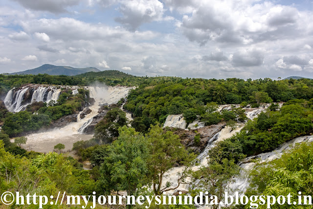 Barachukki Waterfalls Shivanasamudra