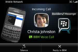 in that place are interesting features brought updates on  BBM Voice, Internet Phone BlackBerry Via Wifi