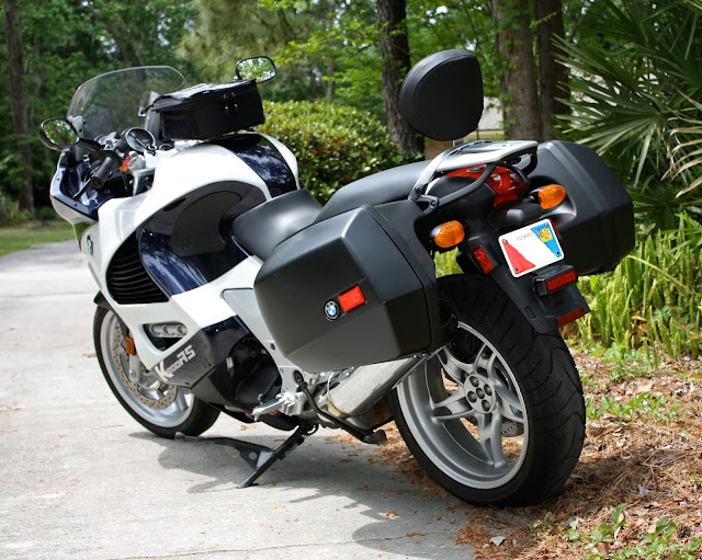 BMW K1200RS tAIL LOOK