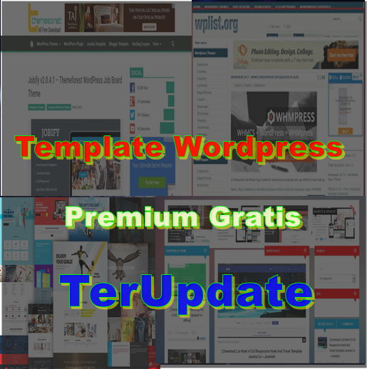 Download Template Premium Gratis Update Setiap Hari