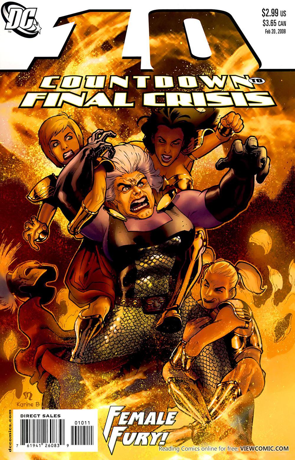 Countdown To Final Crisis (Week 42) 10 (2008) | Viewcomic reading