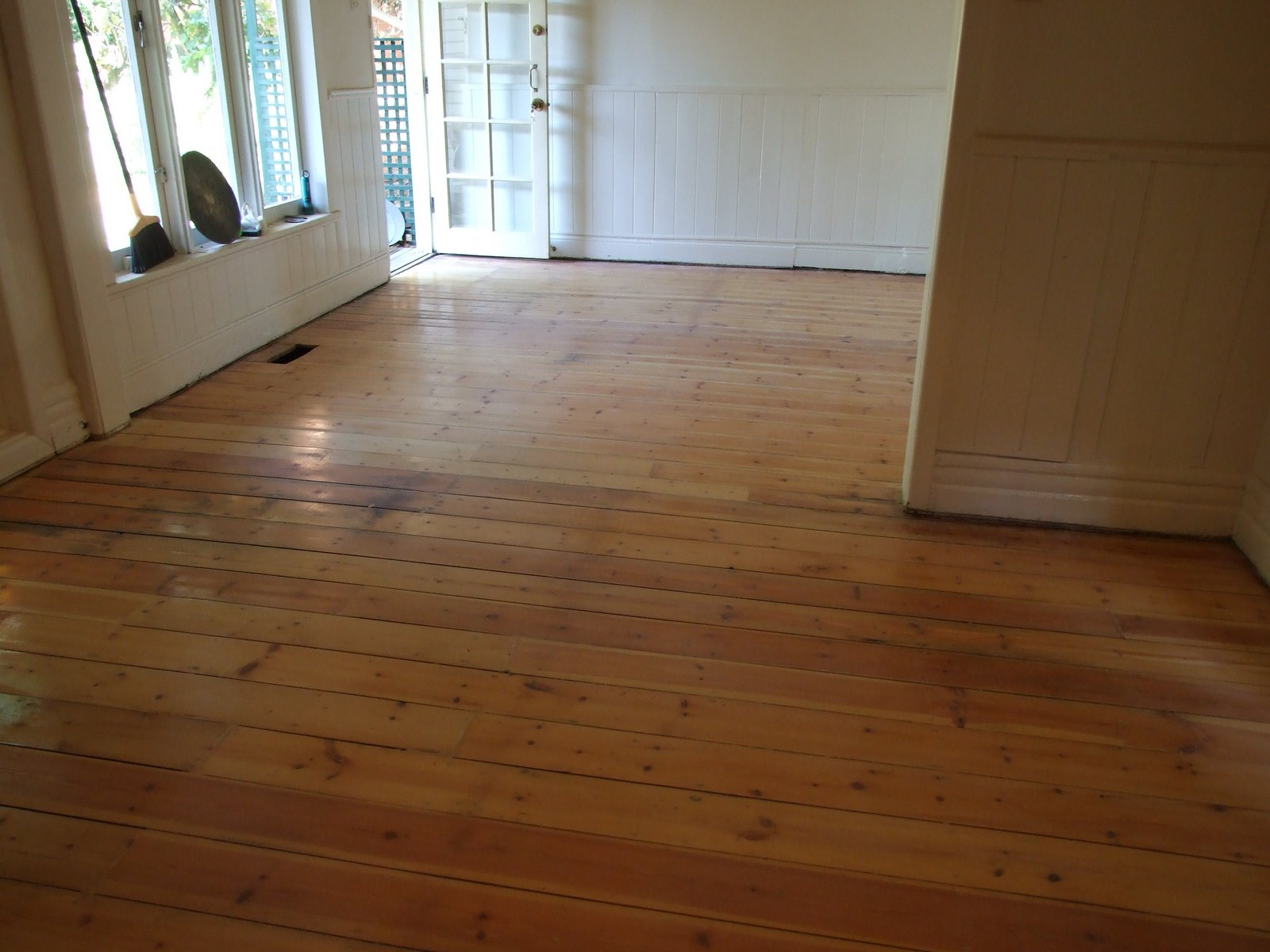 Restoration of an old Baltic Pine floor
