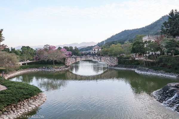 《台中.新社》新社莊園古堡|歐式建築和花園|好逛好拍|婚紗外拍夯點|新社知名景點